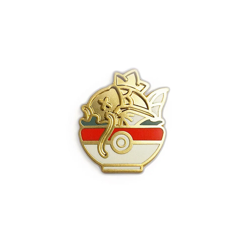 Shiny Pokebowl Enamel Pin