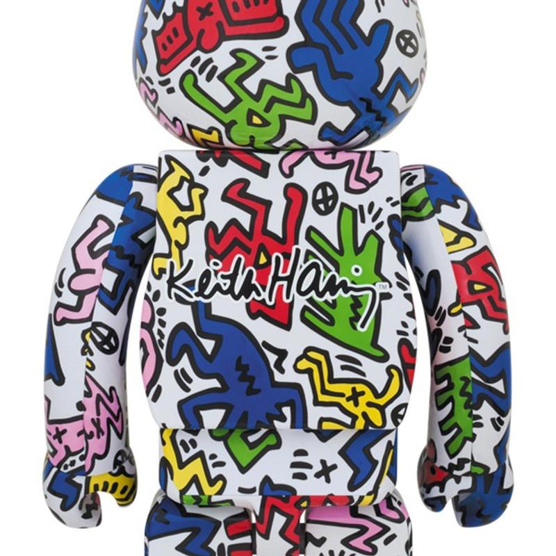 Be@rbrick 400% and 100% : Keith Haring