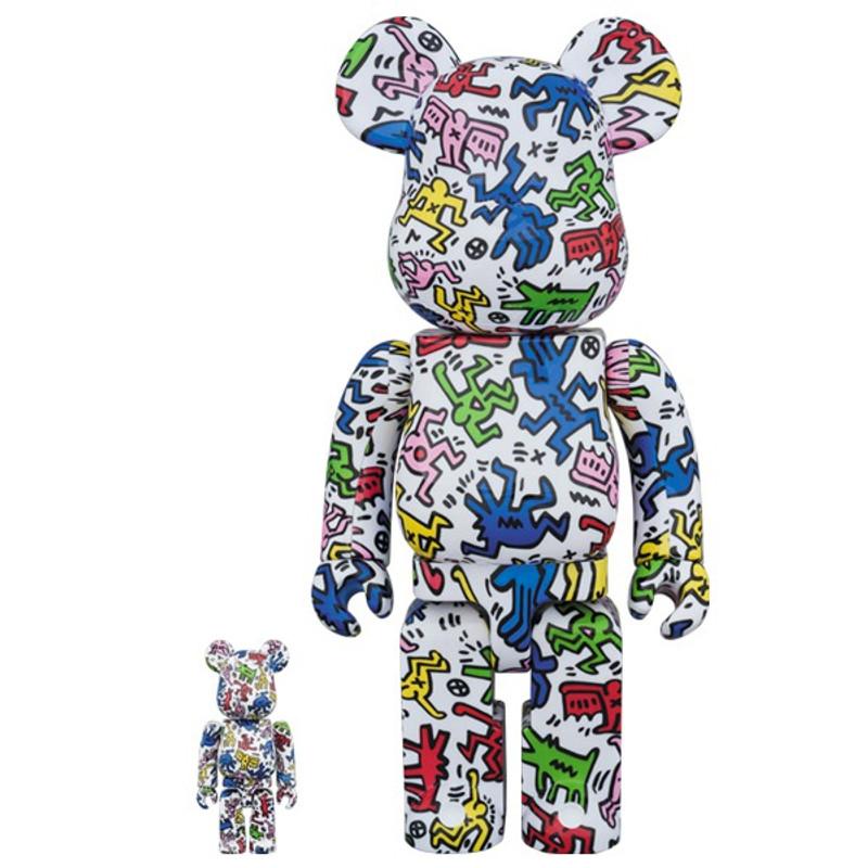 Be@rbrick 400% and 100% : Keith Haring PRE-ORDER SHIPS JAN 2018