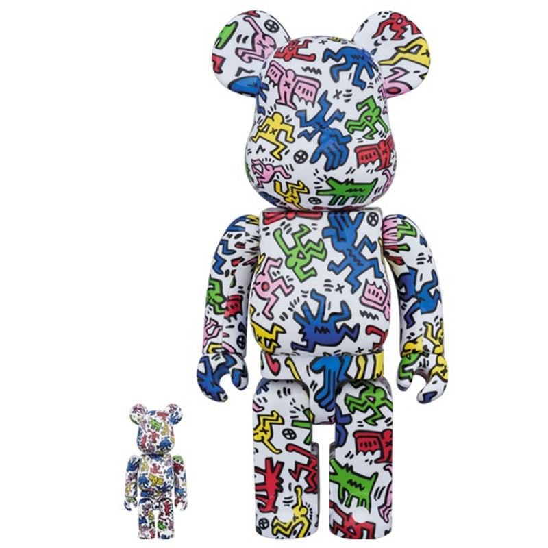 Be@rbrick 400% and 100% : Keith Haring PRE-ORDER SHIPS JAN 2018