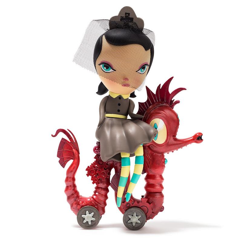 Dark Harbor Lucy Curious Medium Figure by Kathie Olivas