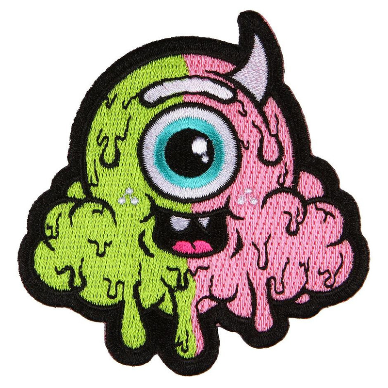 Motley Melty (Split) Iron-On Patch