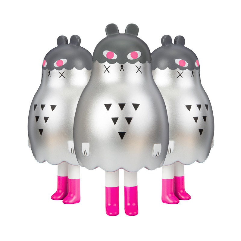 Boo Bear : Silver by Andrea Kang