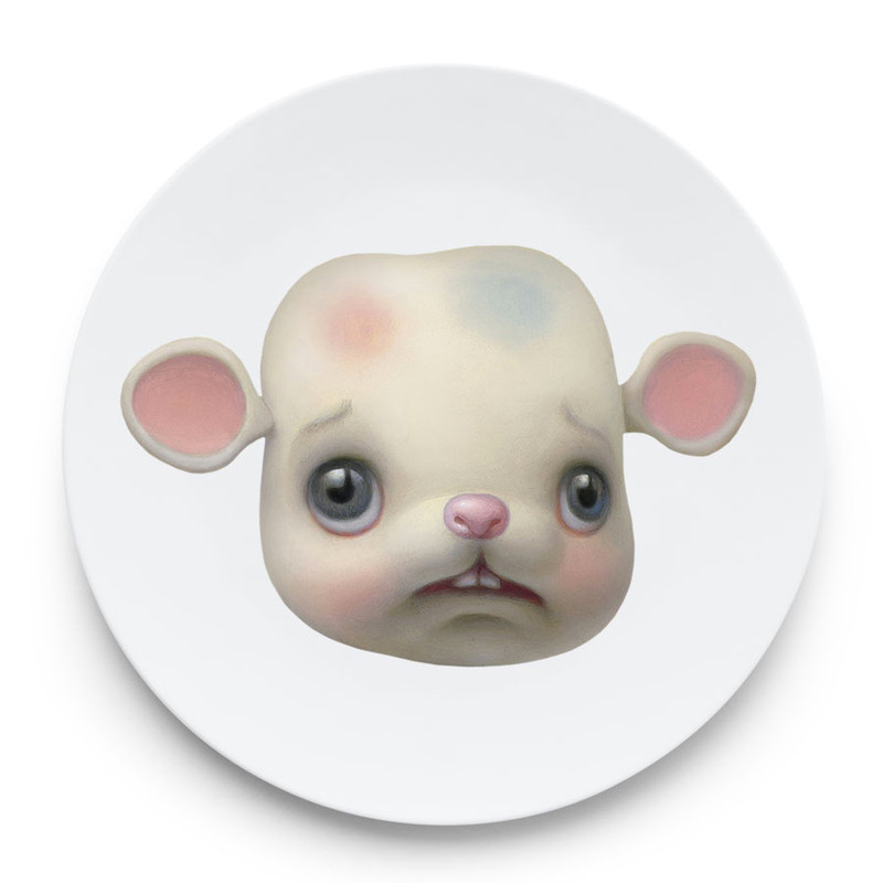 Friendly Animal Plates by Mark Ryden