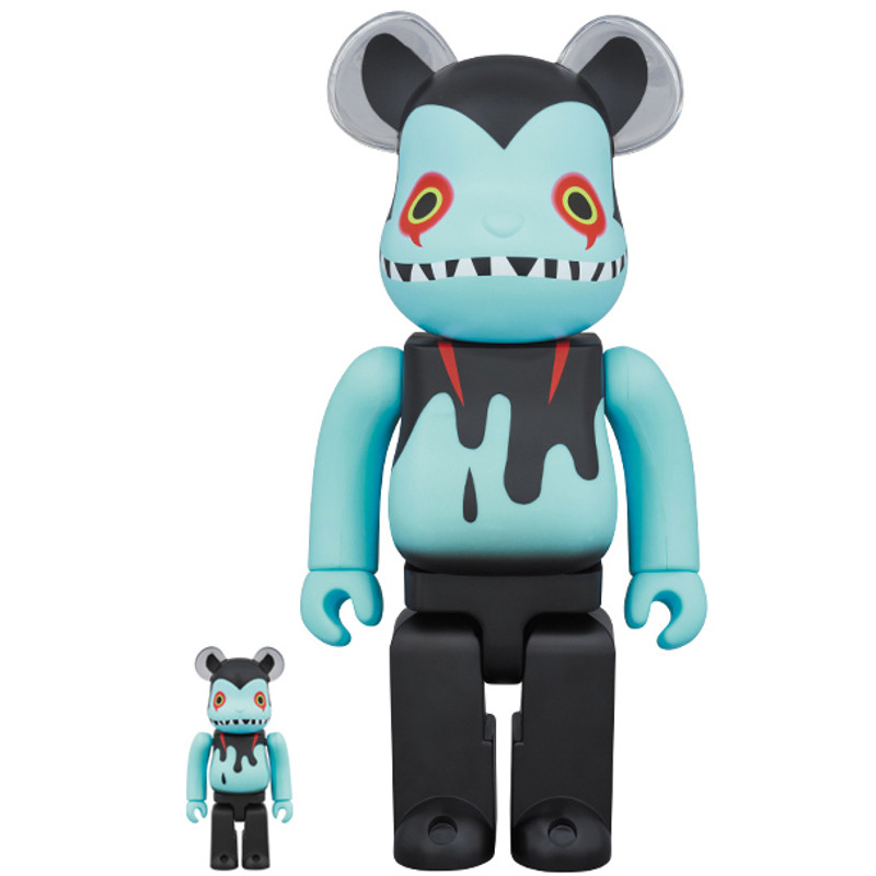 Be@rbrick 400% and 100% : Devilman x Byron