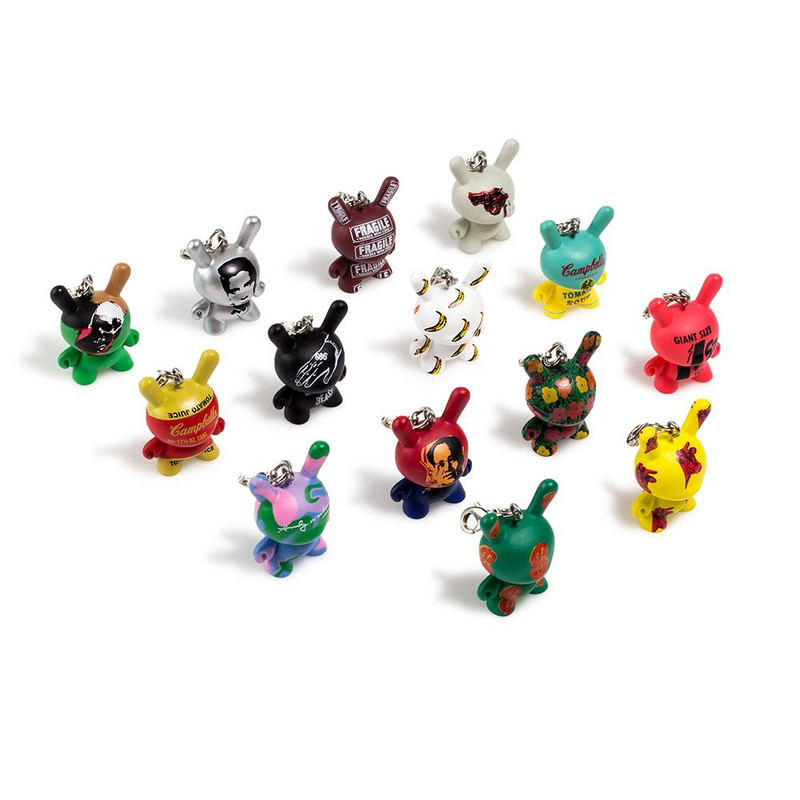 Andy Warhol Dunny Keychain Series : Case of 24