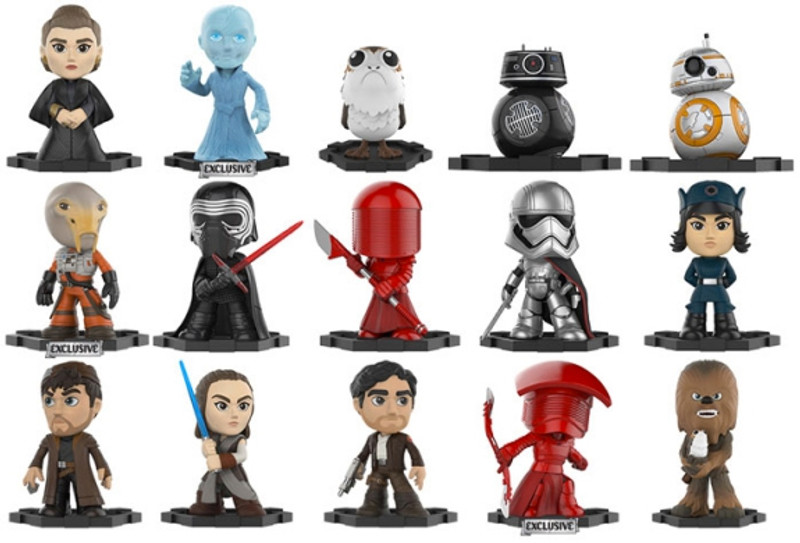 Star Wars The Last Jedi Mystery Mini Bobble Head Series : Blind Box