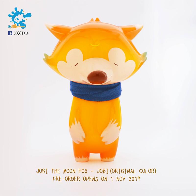 Jobi the Moon Fox : Original Color PRE-ORDER SHIPS LATE JAN 2018