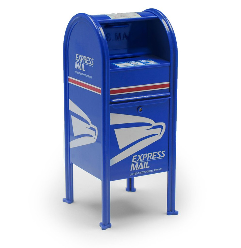 USPS Mini Drop Box : Express Mail Logo