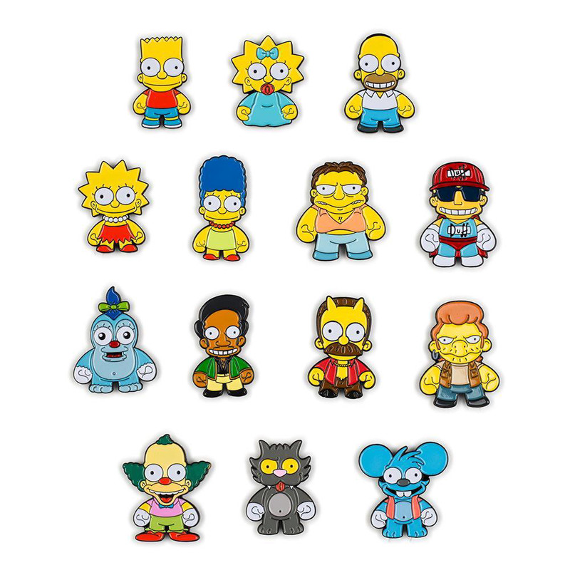The Simpsons Enamel Pin Series : Blind Box