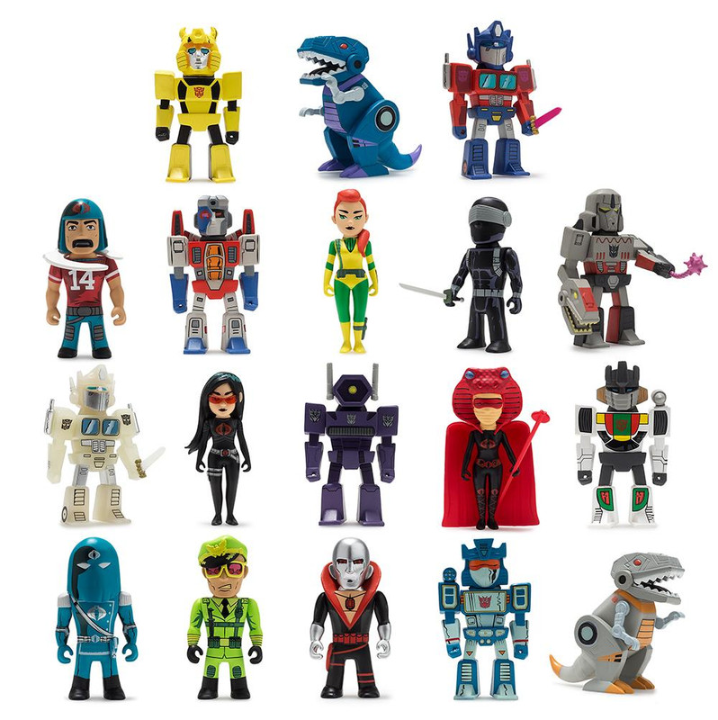 Transformers VS. G.I. Joe Mini Figure Series : Case of 24