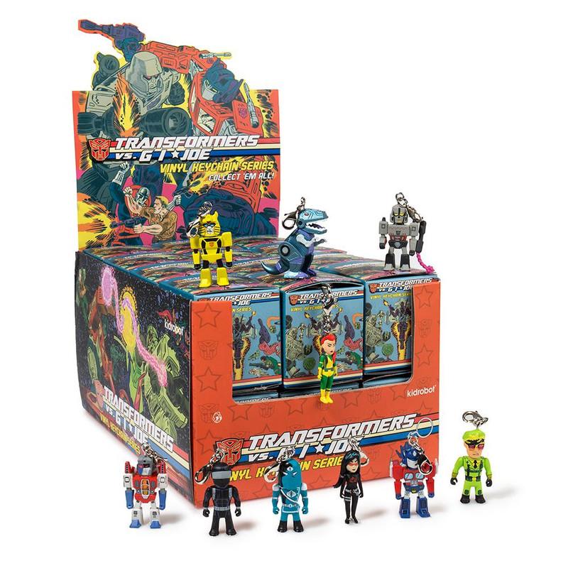 Transformers VS. G.I. Joe Keychain Series : Blind Box