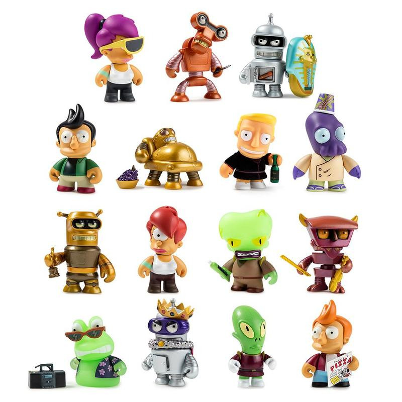 Futurama Universe X Mini Series : Case of 24