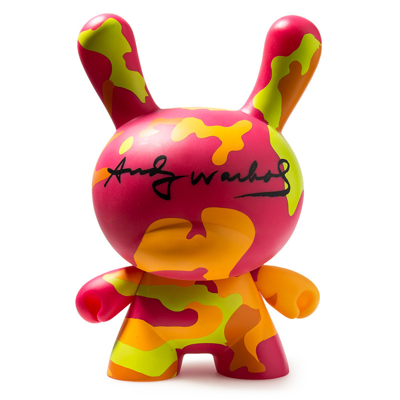 Andy Warhol 8 inch Masterpiece Dunny :  Camo PRE-ORDER SHIPS MAR 2018