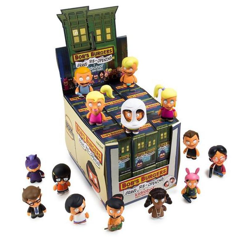 Bob's Burgers Grand Re-Opening Mini Series : Blind Box
