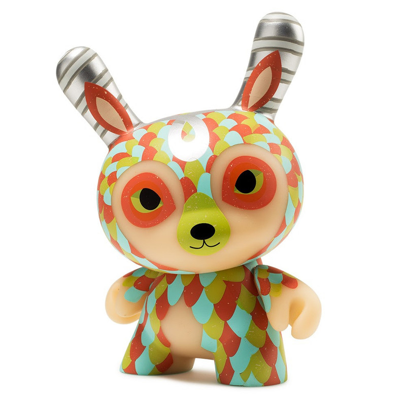 Dunny 5 inch : The Curly Horned Dunnylope PRE-ORDER SHIPS MAY 2018