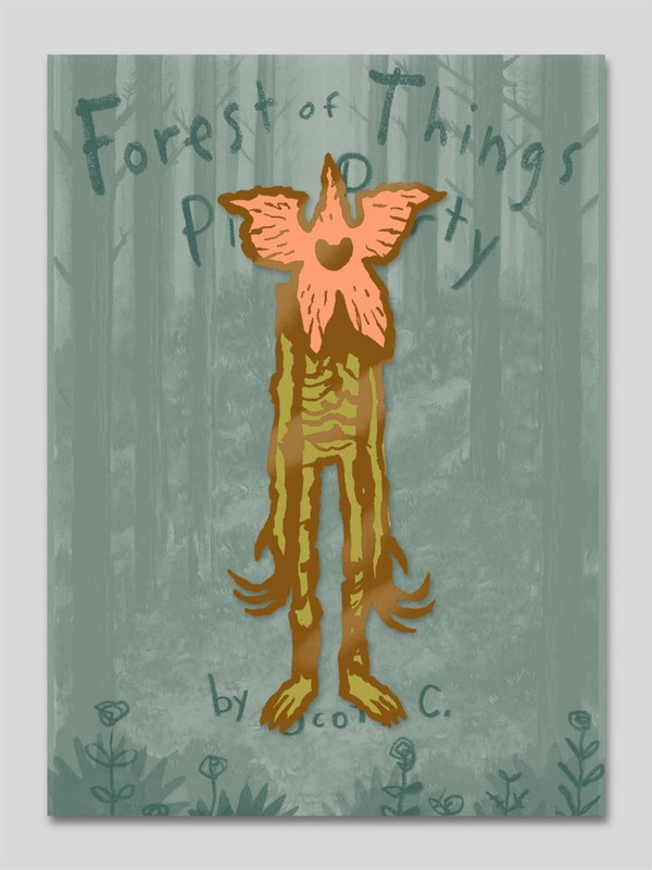 Forest of Things Pin Party : Demogorgon Pin