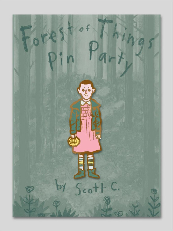 Forest of Things Pin Party : Eleven Pin