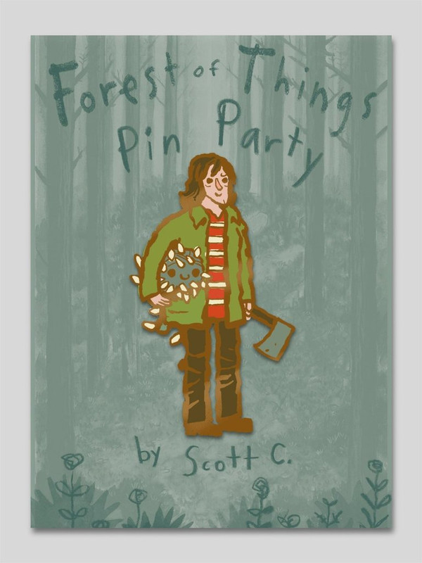 Forest of Things Pin Party : Joyce Pin