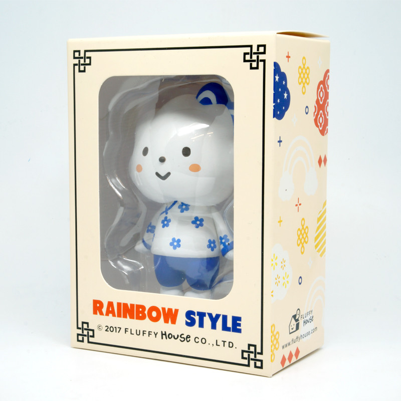 Rainbow Style : China Blue