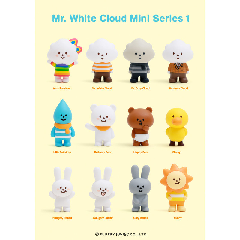 Mr. White Cloud Mini Series 1 : Blind Box