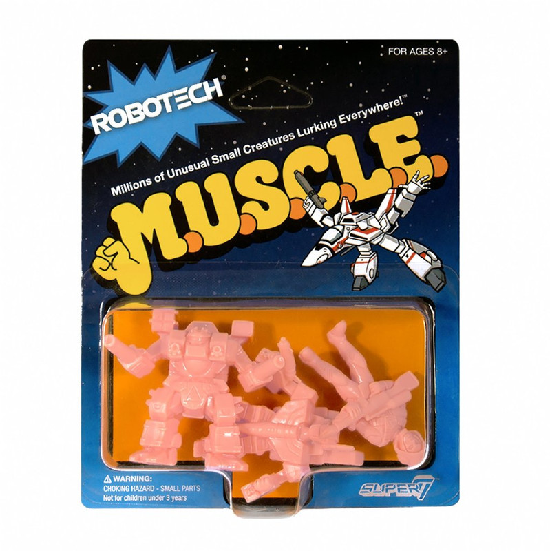 Robotech MUSCLE : Pack D