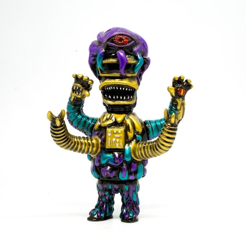 Kenth/a Colorful Monster Zombitron by Akashikrecordstoys