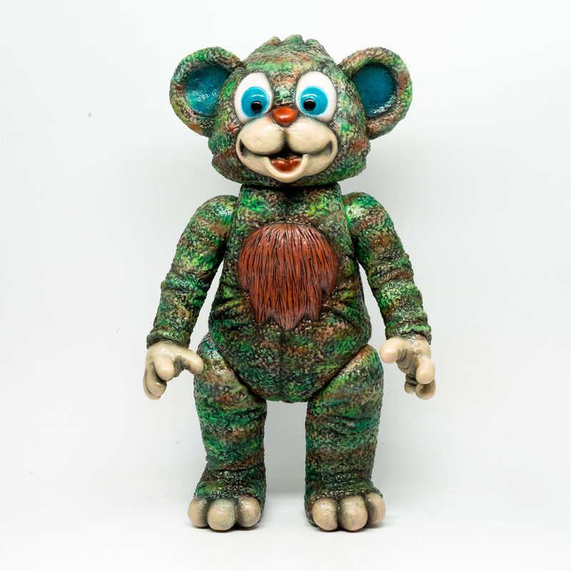 IT Bear Green by Milkboy Toys X Kenth Toy Works *SOLD*