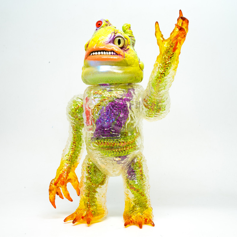 Gunkanjima Kaiju by Plaseebo *SOLD*