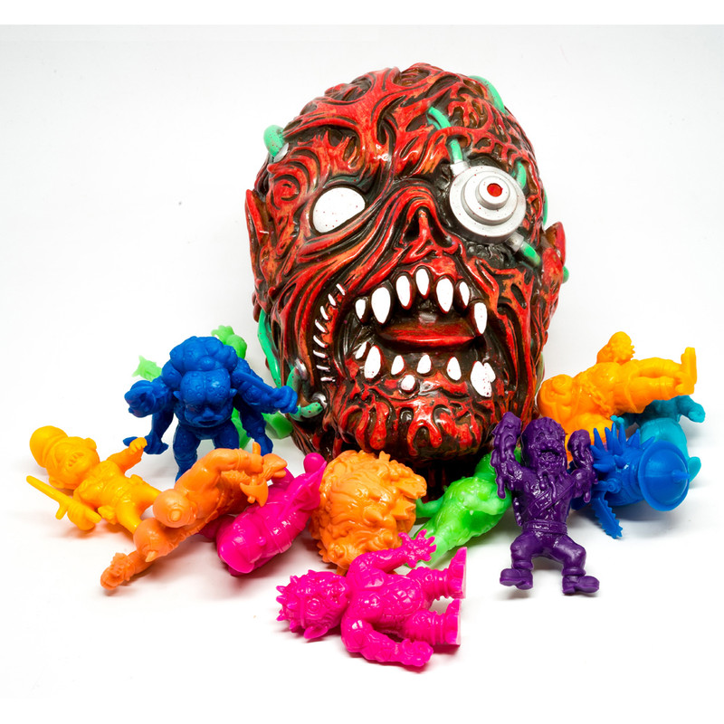 Monitorr w/ set of 12 Gorelords by Violence Toy *SOLD*