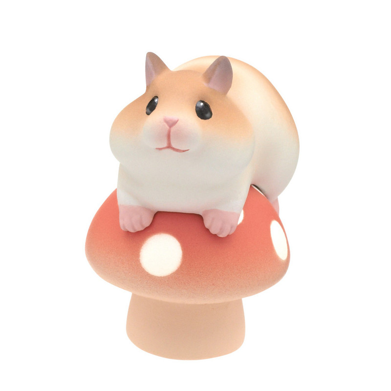 Hamster on Mushroom : Blind Box