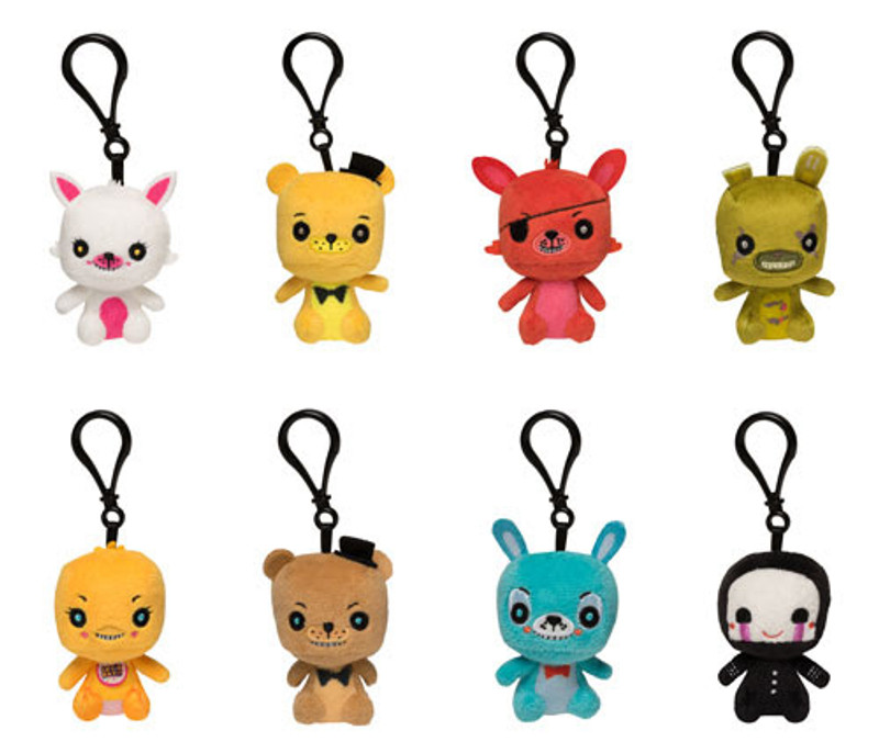 Five Nights At Freddy's Mystery Mini Series : Blind Box Plush Keychain