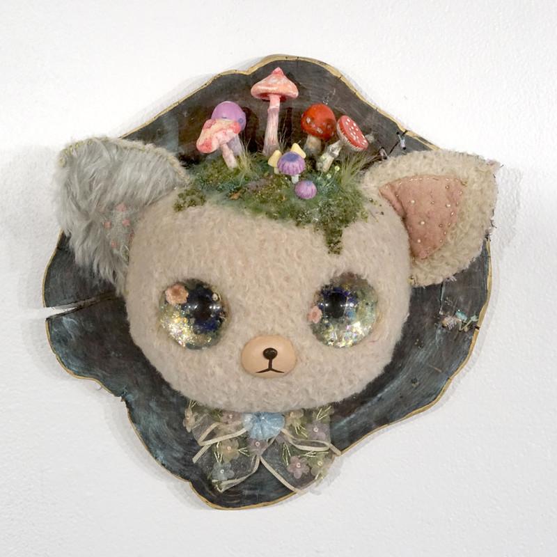 Mushroom Cat by Eimi Takano
