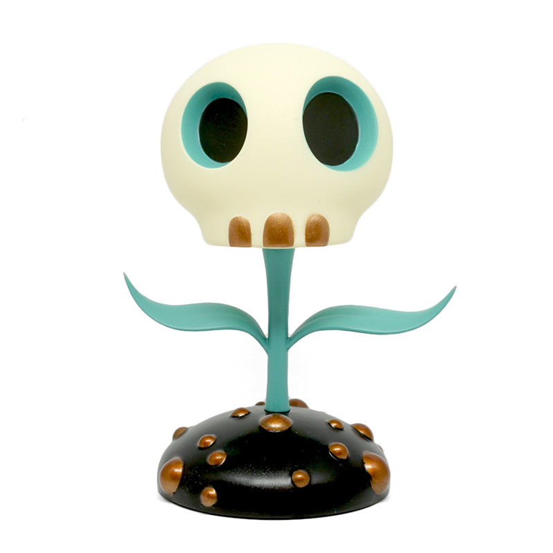 Skull Flower 12 inch : Blue by Tara McPherson PRE-ORDER SHIPS LATE JUN 2018