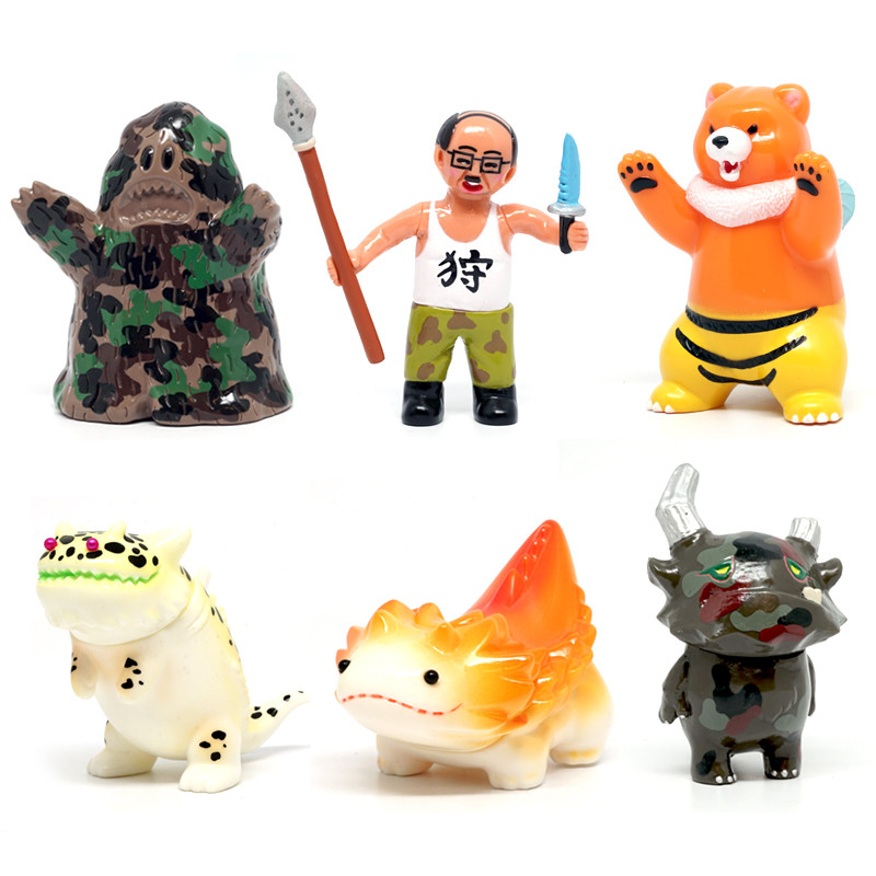 Kaiju Hunting : Standard Set of 6 *OPEN BOX*