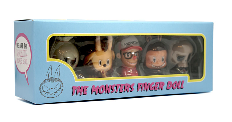 The Monsters Finger Puppets 5 Piece Set by Kasing Lung