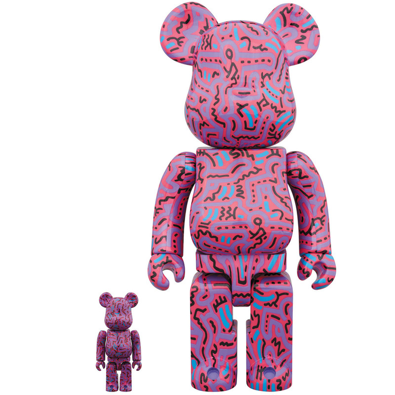 Be@rbrick 400% and 100% : Keith Haring 2 PRE-ORDER SHIPS OCT/NOV 2018