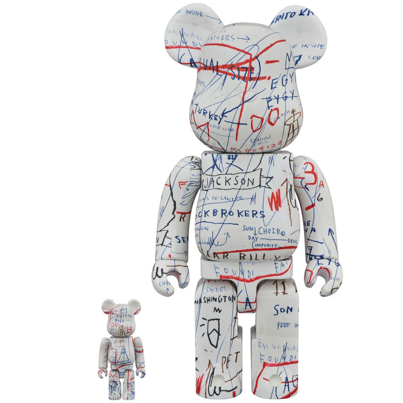 Be@rbrick 400% and 100% : Jean-Michel Basquiat 2 PRE-ORDER SHIPS OCT/NOV 2018