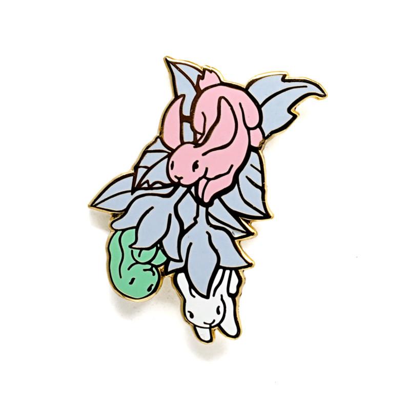 Bunny Blossom Enamel Pin