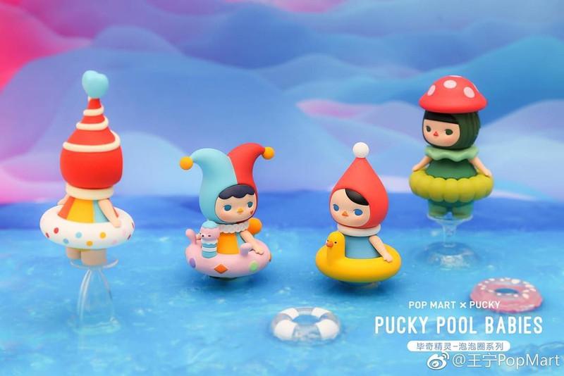 Pucky Pool Babies Mini Series : Open Blind Box