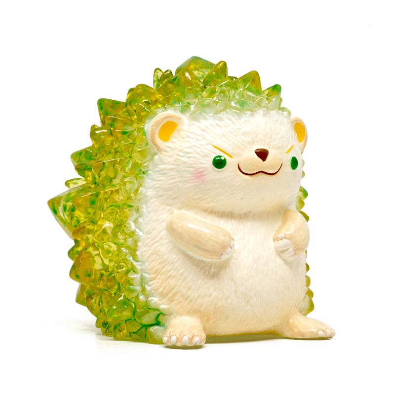 Hogkey the Crystal Hedgehog : Lemon Lime