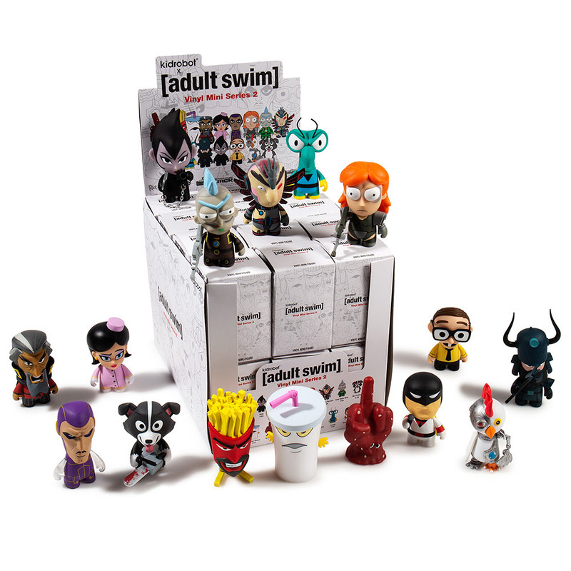 Adult Swim Mini Series 2 : Case of 24 PRE-ORDER SHIPS OCT 2018