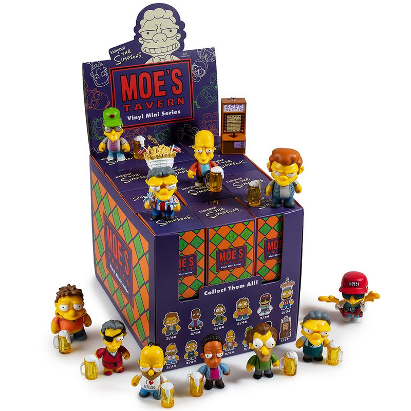 The Simpsons Moe's Tavern Mini Series : Case of 24