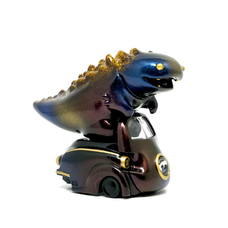Lumisofvi : Lighty Black Set (Mini Figure with Light-up Car + Base) PRE-ORDER SHIPS OCT  2018