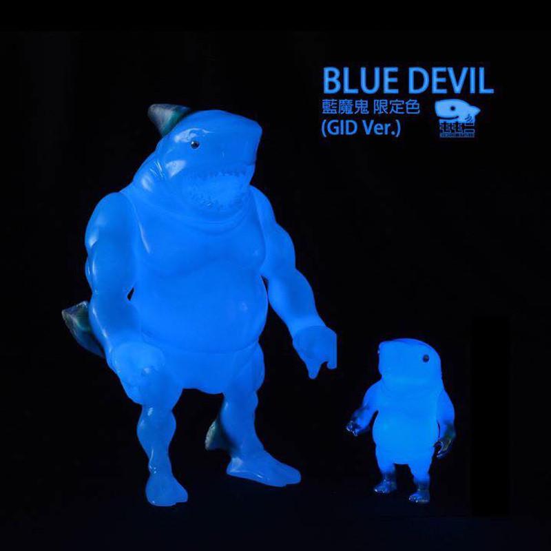 Shark Papa : Blue Devil GID