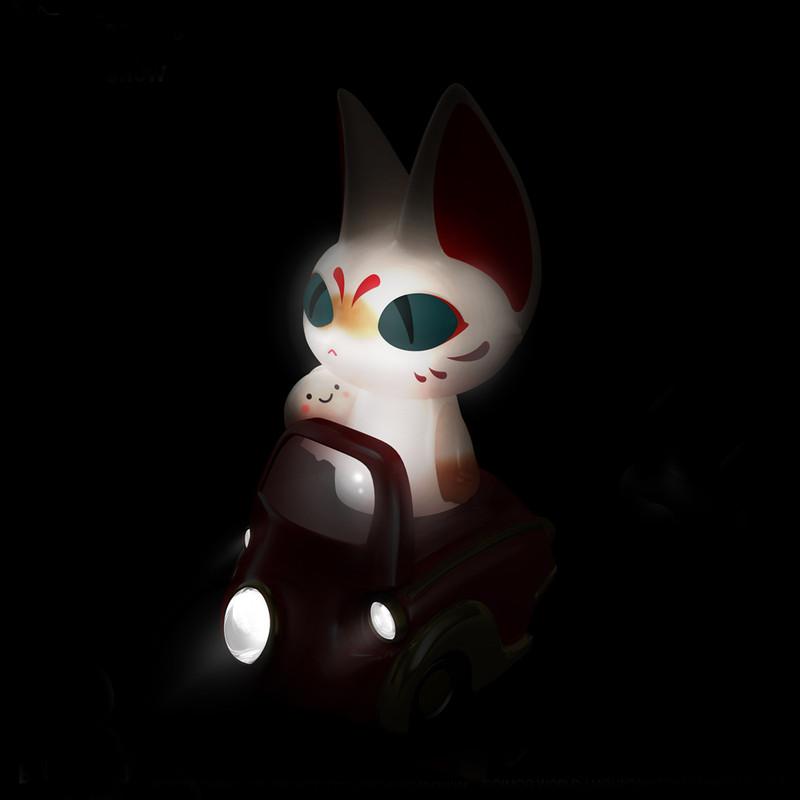 Lumisofvi : Mountain Toys Candy Underworld Set (Mini Figure with Light-up Car + Base) PRE-ORDER SHIPS OCT  2018