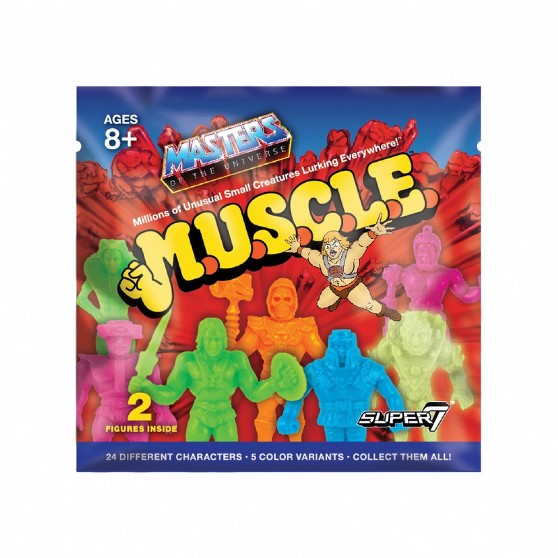 Masters of the Universe M.U.S.C.L.E. : Foil Blind Bag