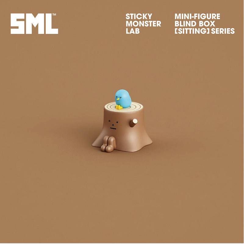 "Sticky Monster Lab Mini-Figure ""Sitting"" Series : Blind Box SHIPS NOV 2018"