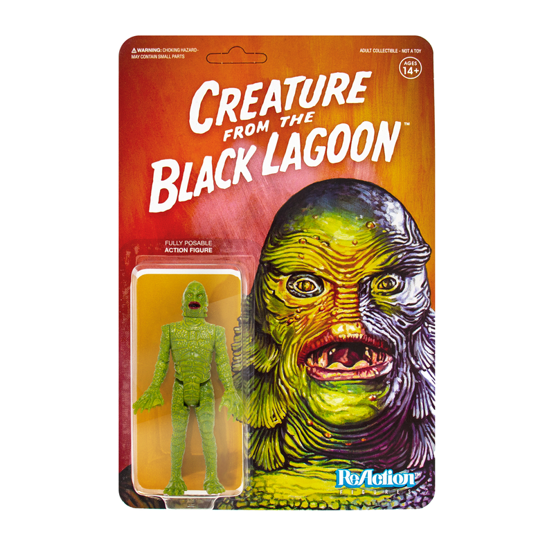 Universal Monsters ReAction Series : Creature from the Black Lagoon
