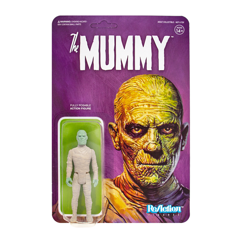 Universal Monsters ReAction Series : The Mummy